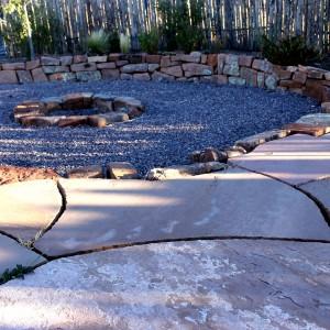 Circle and stone
